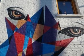 Abstract Eyes Street Art - Camden