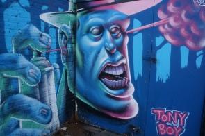 Tony Boy Abstract Street Art - Camden
