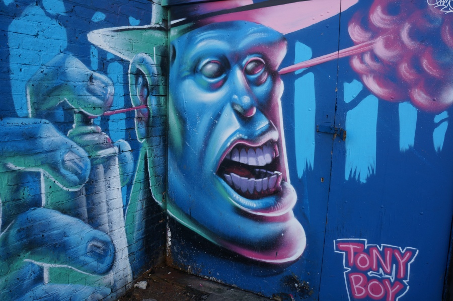Tony Boy Abstract Street Art - Camden