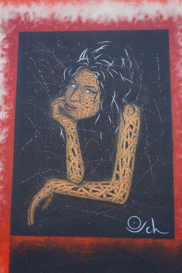Amy Winehouse Street Art - Camden