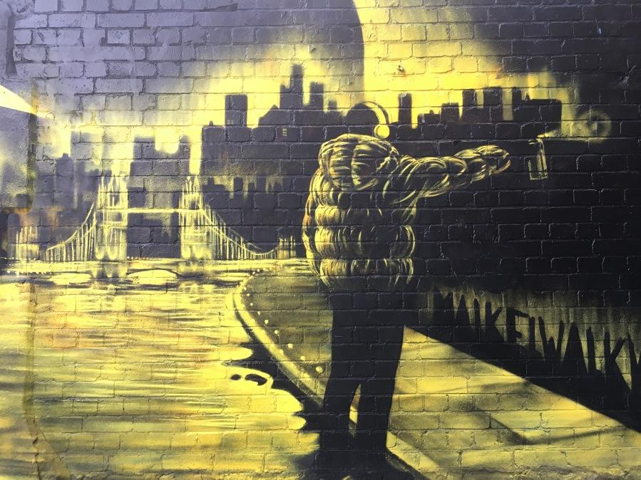 London Graffiti Scape Street Art - Hoxton