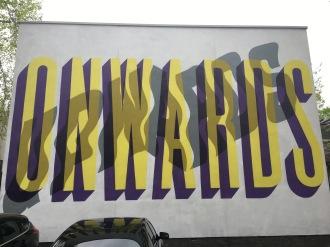 Onwards Upwards Street Art - Camden, London