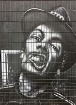 Hood Snarl Street Art - Southwark