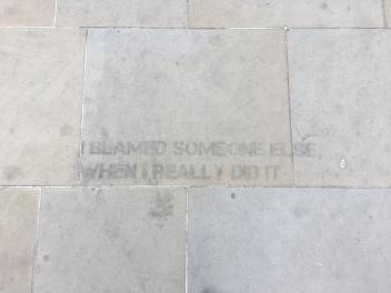 Blame Street Message - Southwark