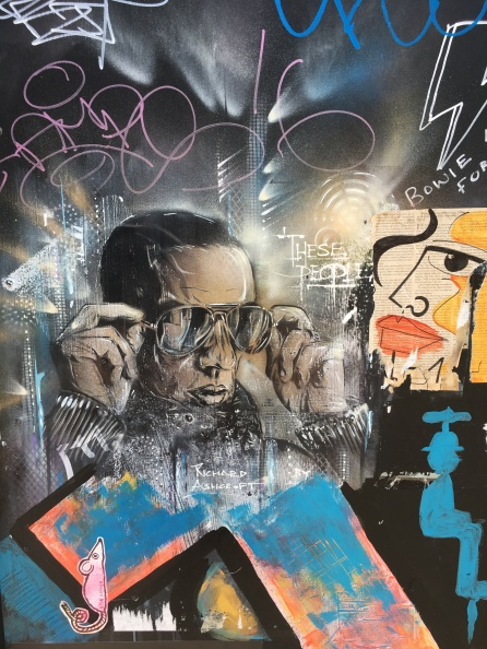 Cool Dude Street Art - Soho