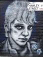 Moody Woman Street Art - Camden
