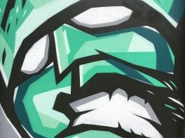 The Hulk Street Art - Camden