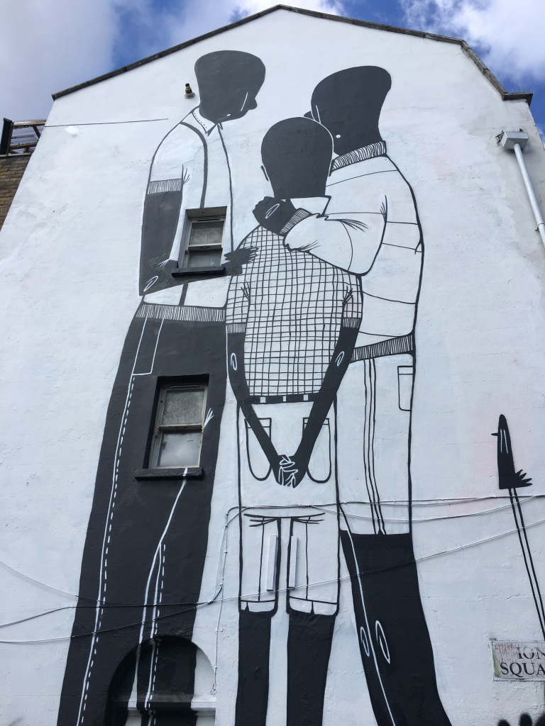 Family Street Art - Hoxton