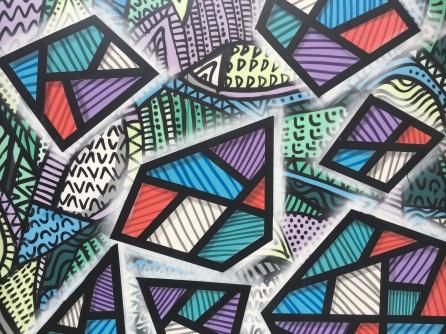 Abstract Street Art 1 - Camden