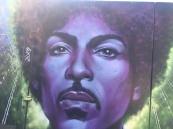 Jimmy Hendrix Street Art - Camden