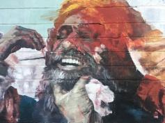 Smiling Jesus? Street Art - Camden