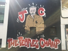 Jeremy Corbyn, The People's Champ Street Art - Camden