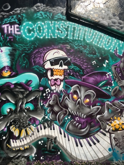 The Constitution Street Art - Camden
