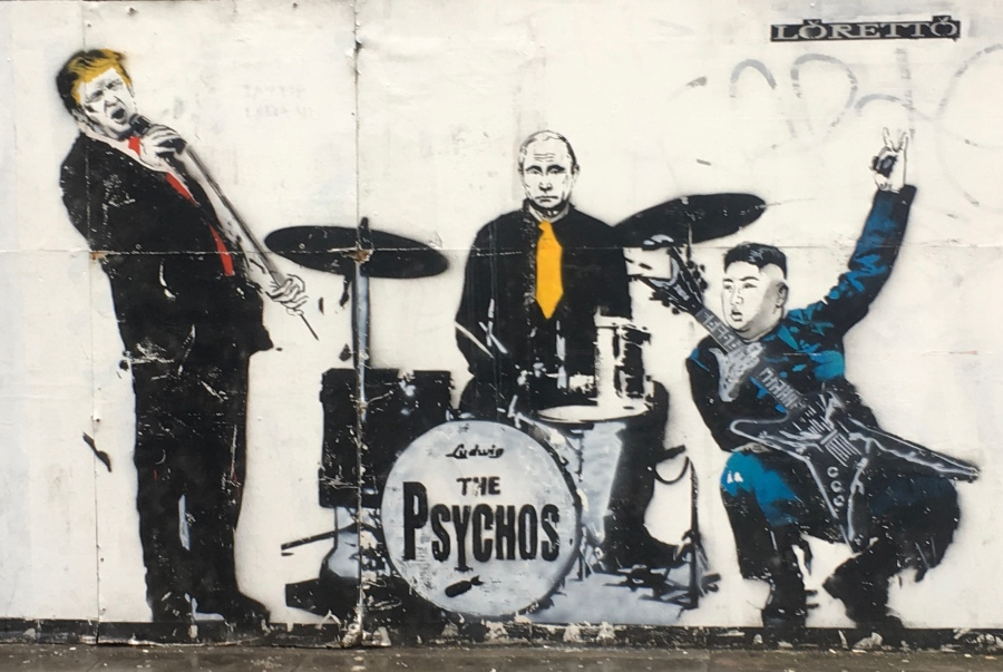 The Psychos Band Street Art - Shoreditch