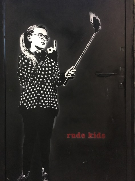 Rude Kids Street Art - Camden