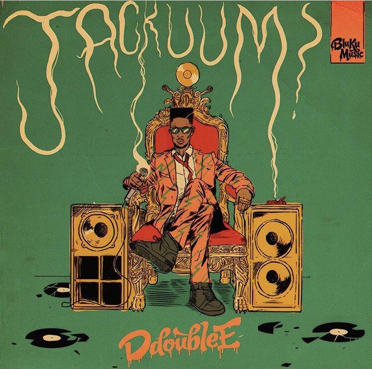 D Doube E - Jackuum - Album Cover